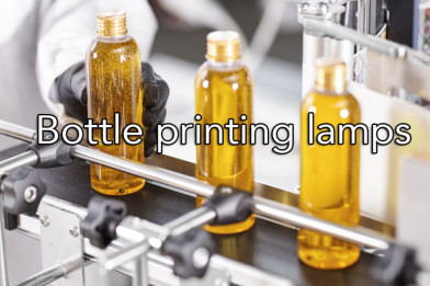 Bottle Printing Lamps