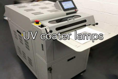 UV Coater Lamp