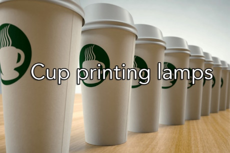 Cup Printing Lamps
