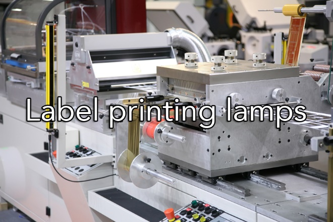Label Printing Lamps