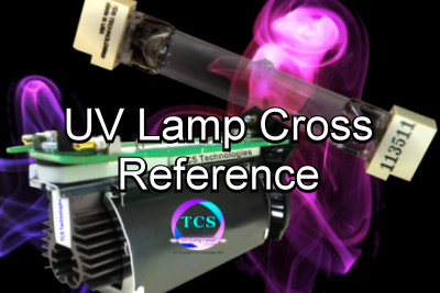 UV inkjet lamp cross-reference